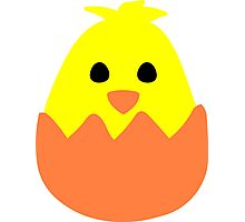 Hatching Easter Chick Photographic Print