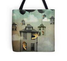 Birdhouse 2 Tote Bag