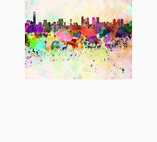 Tel Aviv skyline in watercolor background Unisex T-Shirt