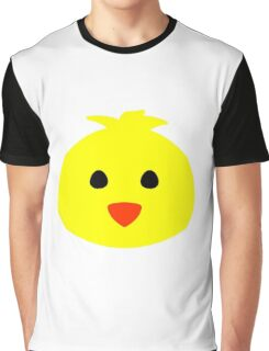 Cute Easter Chick Graphic T-Shirt