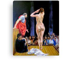 slave market after Jean Leon Gerome Canvas Print