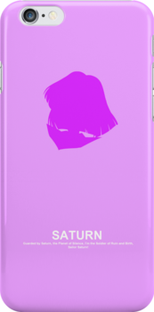 Sailor Saturn Case by Oshiokiyo