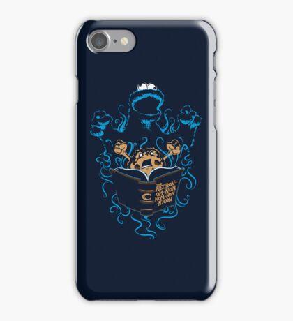 The Necron-Om-Nom-Nom-Nom-Nicon iPhone Case/Skin
