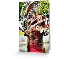 My Head is Spinning! Greeting Card