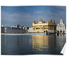 The Golden Temple ~ Amritsar Poster