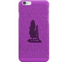 I See the Light Alternate Purple 2 iPhone Case/Skin