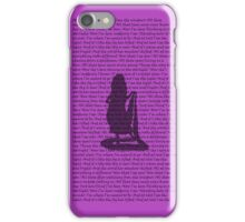 I See the Light Alternate Purple 2 iPhone Case/Skin
