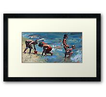 Summer Days IV Framed Print