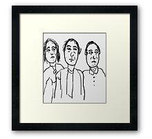 Business of Business Framed Print