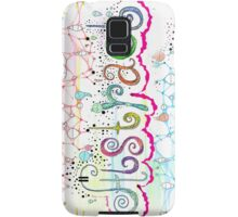 Think Abstract Samsung Galaxy Case/Skin