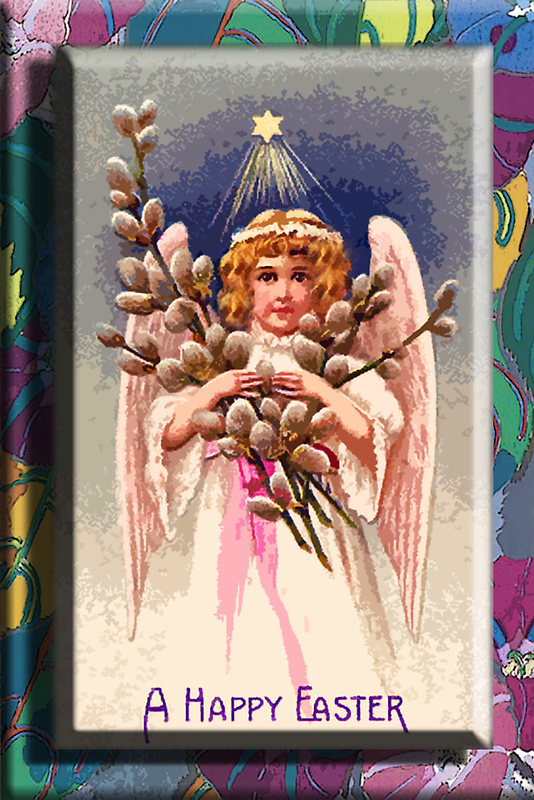 EASTER ANGEL 2 by Tammera