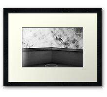 Home In The Clouds Framed Print