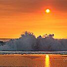 """"""" Oceanic Sunset """" by Gail Jones"""