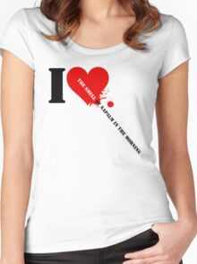 Apocalypse Now - I Love The Smell Of Napalm In The Morning Women's Fitted Scoop T-Shirt
