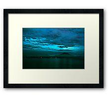 Mount Agung Framed Print