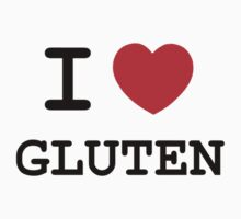 I Heart Gluten by Chris Serong