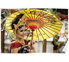 Balinese Girl Poster