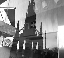 Monument reflected by Graham Farquhar