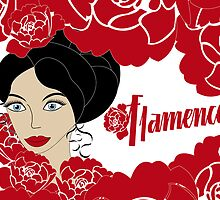 Vintage poster Flamenco by schtroumpf2510