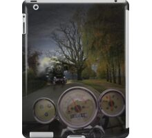 oncoming traffic iPad Case/Skin