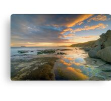 Reflections of Sunset. Canvas Print
