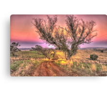 On The Road Again - Cootamundra NSW - The HDR Experience Canvas Print