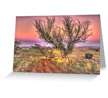On The Road Again - Cootamundra NSW - The HDR Experience Greeting Card