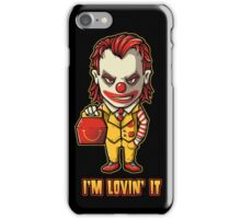 Mc'D Joker - Batman - Mashup iPhone Case/Skin