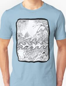 Doodle Collage Shirt T-Shirt