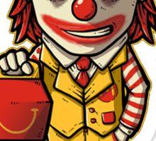 Mc'D Joker - Batman - Mashup Sticker
