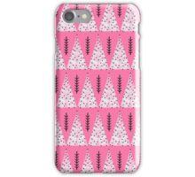 Winter Trees - Pink by Andrea Lauren  iPhone Case/Skin