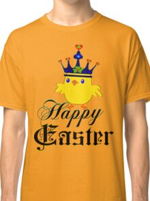 ㋡♥♫Happy Easter Blue Eyed Irish King Chicken Clothing & Stickers♪♥㋡ Classic T-Shirt