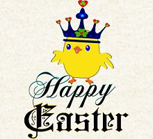 ㋡♥♫Happy Easter Blue Eyed Irish King Chicken Clothing & Stickers♪♥㋡ Hoodie