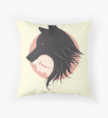 Boy Cries Wolf Throw Pillow