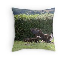 Sea Eagles Throw Pillow