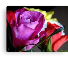 A beautiful bouquet Canvas Print
