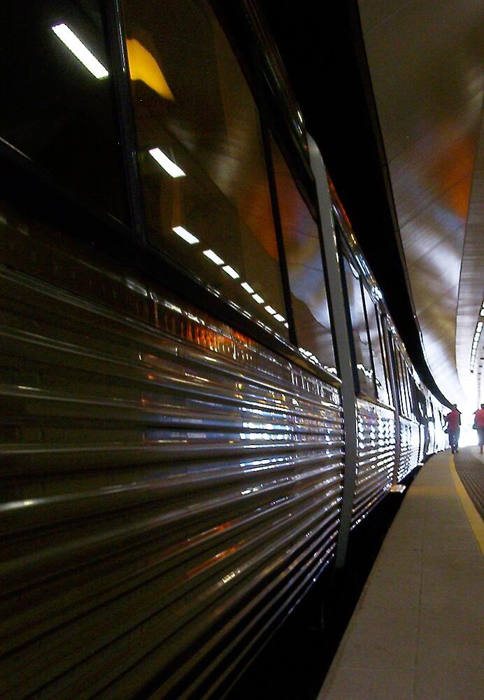 Train 12 03 13 - Three by Robert Phillips