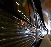 Train 12 03 13 - Three by Robert Phillips