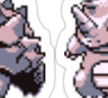 Rhyhorn evolutions Sticker