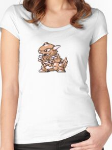 Kangaskhan evolution  Women's Fitted Scoop T-Shirt