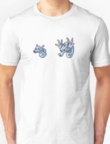Horsea evolution  T-Shirt