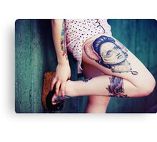 Tattoo I Canvas Print