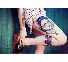 Tattoo I Photographic Print