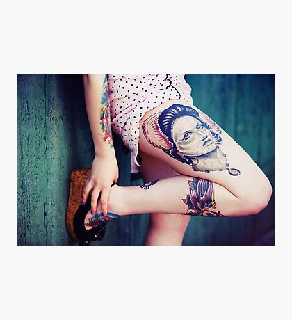 Tattoo I Photographic Print