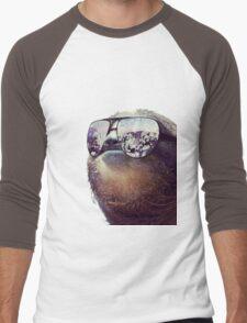 Cashmoney Sloth w/ sunglasses Men's Baseball ¾ T-Shirt