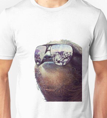 Cashmoney Sloth w/ sunglasses Unisex T-Shirt