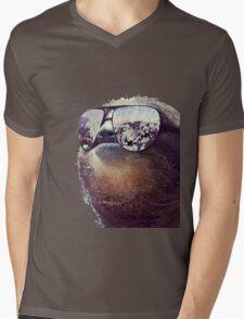 Cashmoney Sloth w/ sunglasses Mens V-Neck T-Shirt