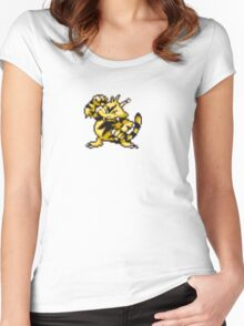 Electabuzz evolution  Women's Fitted Scoop T-Shirt