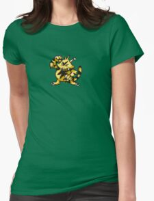 Electabuzz evolution  Womens Fitted T-Shirt