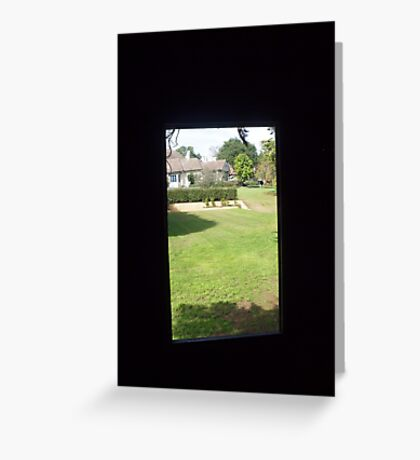 Bowral garden  Greeting Card